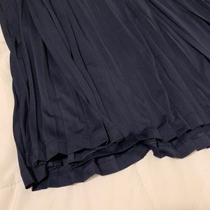 Mossimo Supply Co. Skirts - {SOLD} NEW Navy Pleated Maxi Skirt